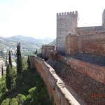 La Alhambra an view of Old Granada