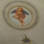  central ceiling painting