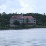  view of the Hotel from the sea