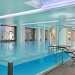 Indoor Swimming Pool at the Hilton Athens