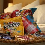  Kids Basket from the Room Service of Hilton Athens