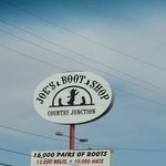 Joe's Boot Shop