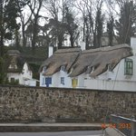 Thatched Cottages Across the Street