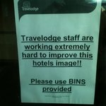 Staff were working hard, Travelodge not at all