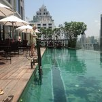 Swimmingpool on 19th floor