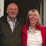  Maddy Prior &amp; Rick Kemp (Steeleye Span) guests at Mead Lodge during the Chippenham Folk Festival