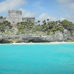 Tulum vu de la mer