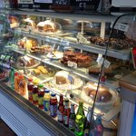Nice selection of cakes in the cafe