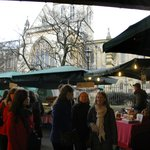 Borough Market next to Cathedral