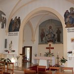  Chapel of hotel  AM Klouschter available for visit