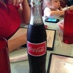  Mexican Coke straight from the bottle