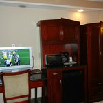 Newer furnishings and TV