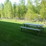 Enjoy our grounds along the Methow River