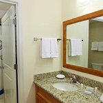 Suite Vanity & Shower