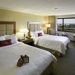 Many rooms have a stunning view of the James River