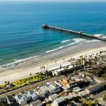 Beach Club Aerial Oceanside Pier