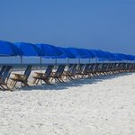 Your beach chair awaits you!
