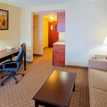  Our suites feature a comfortable living area