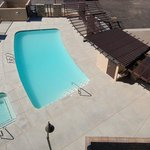 Pool View: Holiday Inn Express, Phoenix(Surprise), AZ