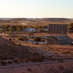 View overlooking Big 4 Coober Pedy, left of Bulls.