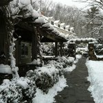 The Inn after the snow fall