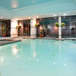  Enjoy a dip in our indoor heated pool open year-round