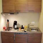 Kitchenette im Apartment