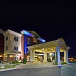  Night view of our beautiful Holiday Inn Express