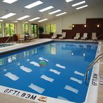  Swimming Pool at the Holiday Inn Express South Burlington, Vermont