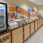  Bountiful Breakfast Bar Serving Hot, Cold &amp; Healthful Items Daily