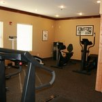 Fitness Center with Dry Sauna