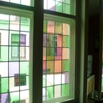 The windows were beautiful, a photo does not do them justice!