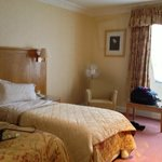 Twin room - beautifully decorated just a shame about the beds
