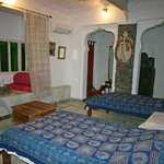  Our room at Darbargadh Palace, Poshina