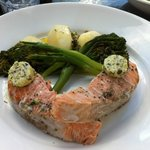Tasmania Salmon with Broccolini en papillote