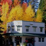 Outside Inn in fall
