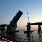 Drawbridge at Longboat Key near Beer Can Island.