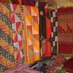 Quilts for sale at Shaam-e-Sarhad