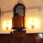 Pulpit in Refectory