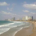  the beach (Tel Aviv on the background)