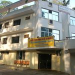 Saravana Bhavan shares the building with Hotel KC