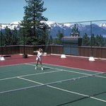 Rooftop Tennis Court