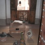  Interior de una habitacin de la Madraza