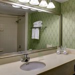  Our bathrooms are spacious and feature all the comforts of home.