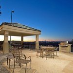 Candlewood Suites-Yuma Guest Patio at sunset