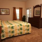 Bedroom with Palm Trees