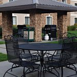  Beautiful outdoor gazebo area where you can grill anytime