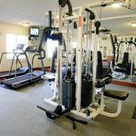  Our on-site fitness room makes it easy to continue your exercise.