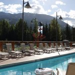  Summer Pool with Blackcomb Mtn