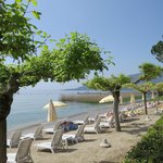  Badestrand am Gardasee beim Hotel